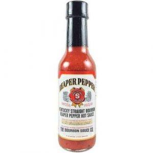 Kentucky Straight Bourbon Reaper Pepper Hot Sauce