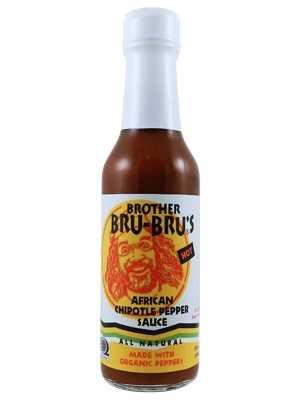 Brother Bru Bru's Organic African Chipotle Pepper Sauce