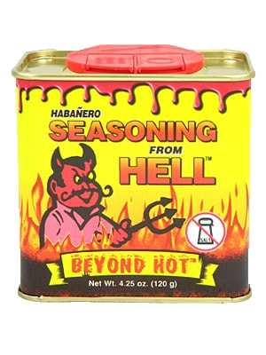 Приправа Habanero Seasoning from Hell