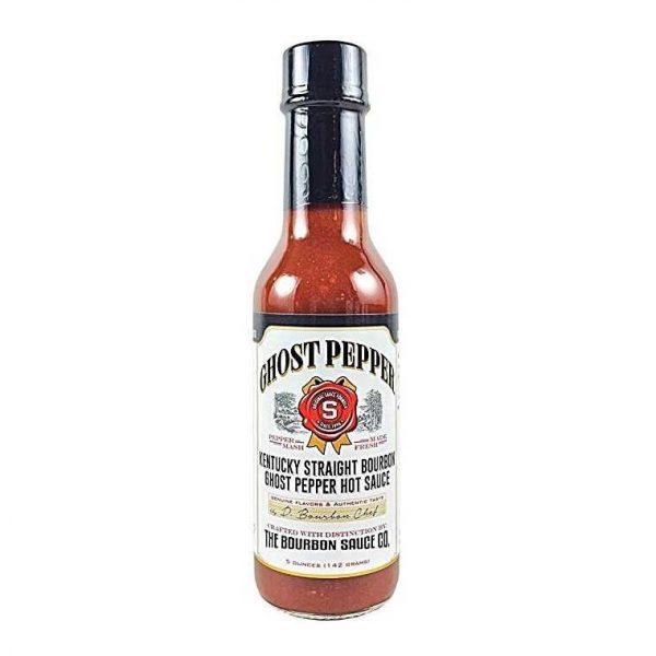 Kentucky Straight Bourbon Ghost Pepper Hot Sauce