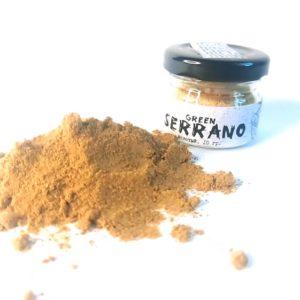 Перец Серрано зеленый молотый 10 грамм