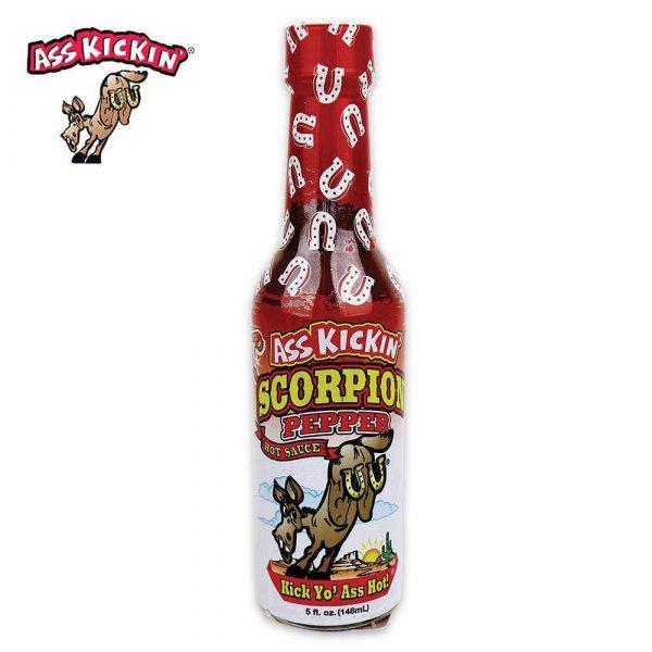 Ass Kickin Scorpion Pepper Hot Sauce