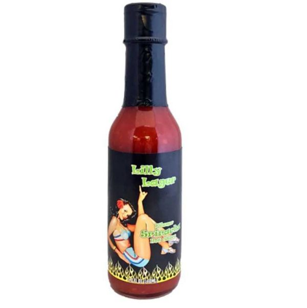 Lilly Lager Pilsner Hot Sauce