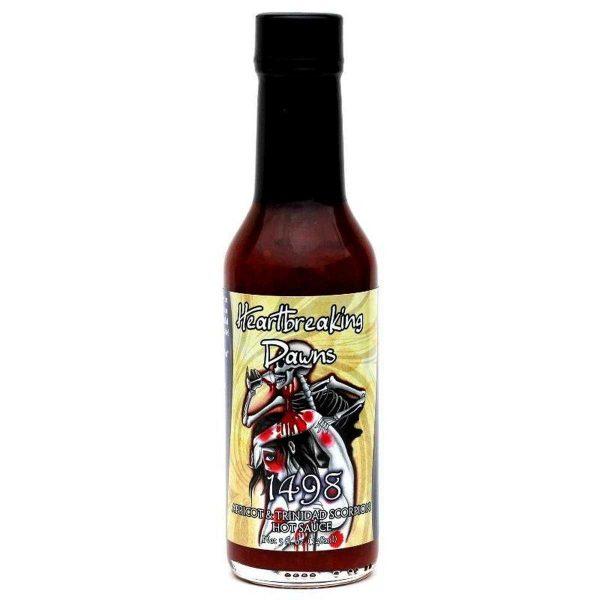 Trinidad Scorpion hot sauce, 148 мл.