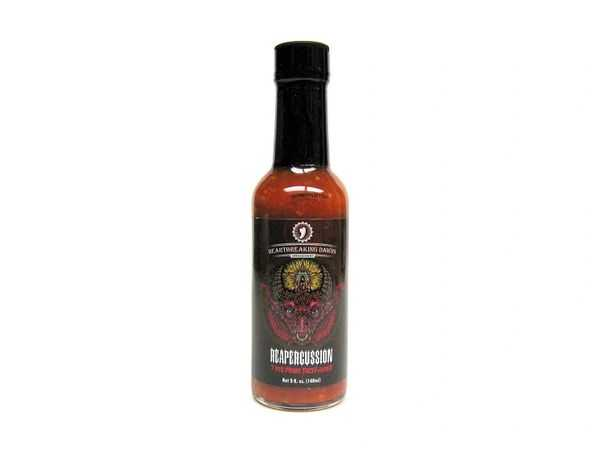 Heartbreaking dawns Reapercussion hot sauce, 148 мл.