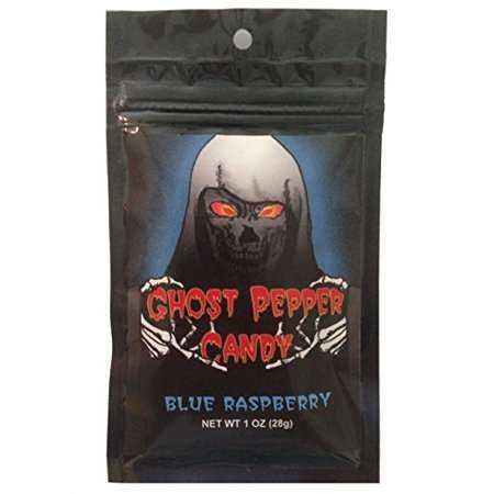 Острые черничные конфеты / Blue Raspberry Ghost Pepper Candy