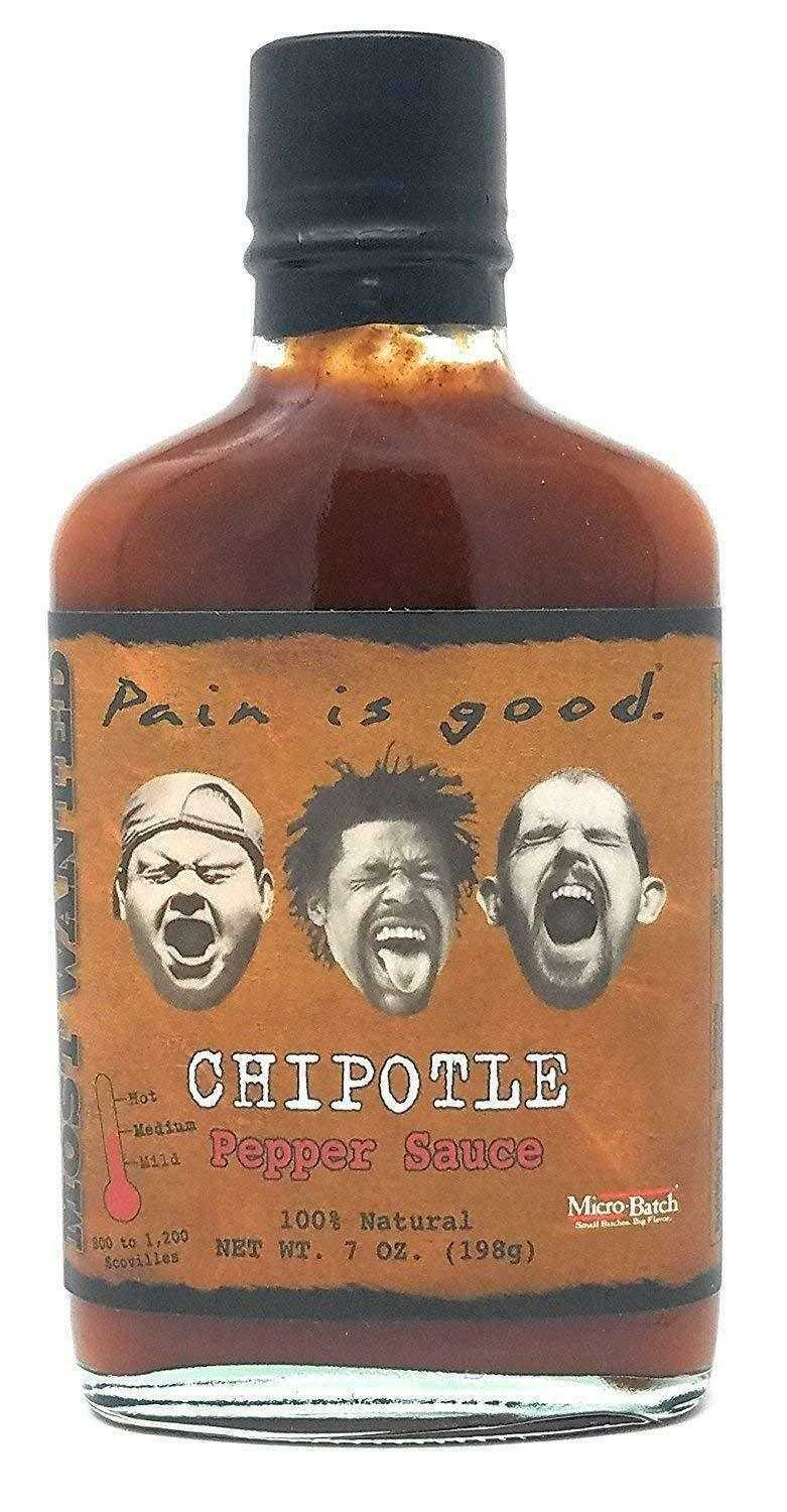 Pain is Good Chipotle Pepper Hot Sauce, 200мл.