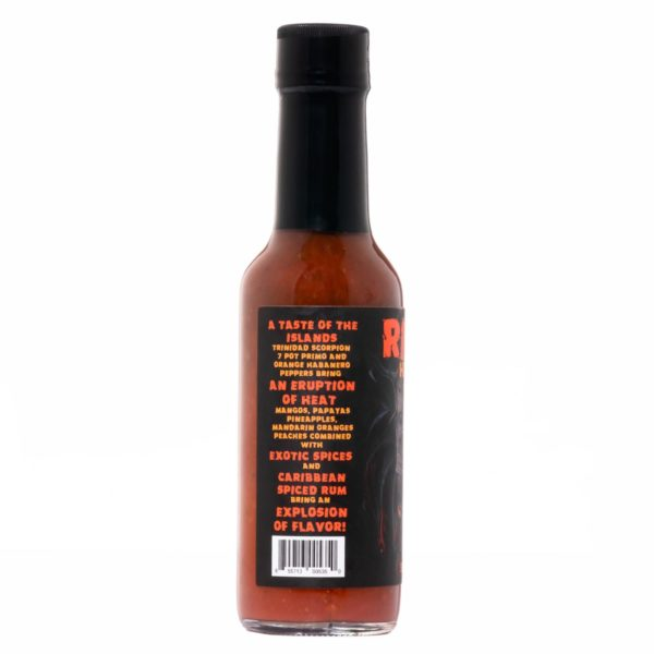 Острый соус Hellfire Ritual Hot Sauce слева