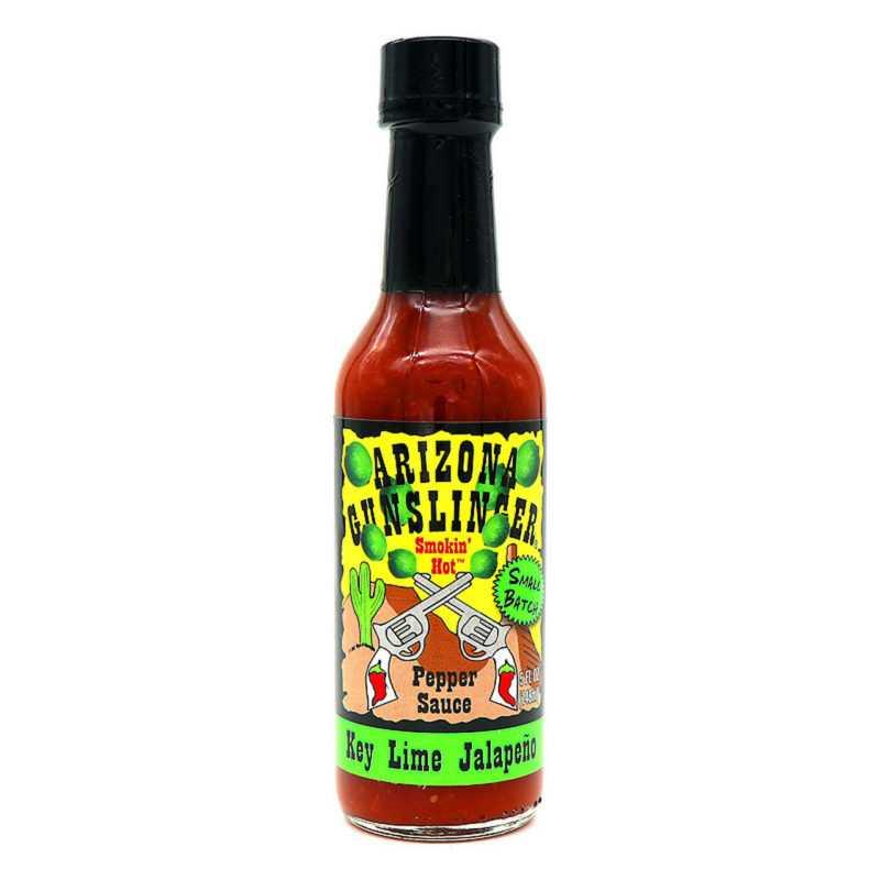 Arizona Gunslinger Key Lime Jalapeno Hot Sauce