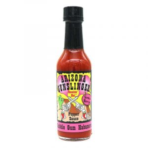 Arizona Gunslinger Bubble Gum Habanero Hot Sauce