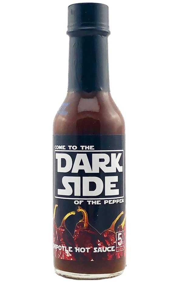 Dark Side of the Pepper Chipotle Hot Sauce