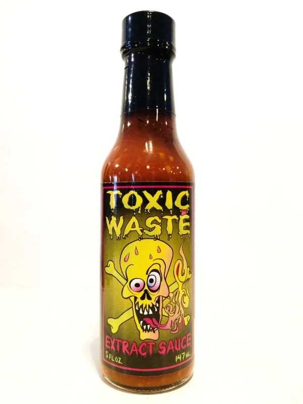 Острый соус Toxic Waste Extract Hot Sauce