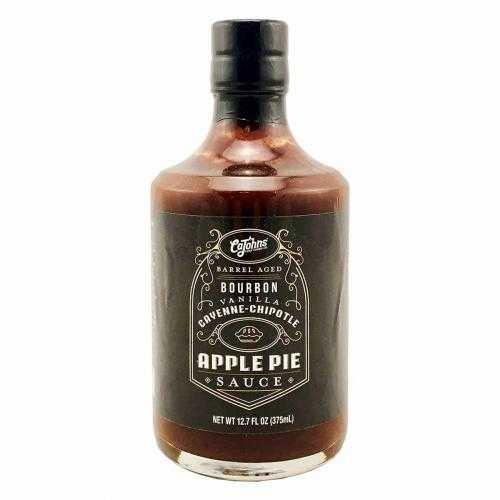 Cajohns Bourbon Vanilla Cayenne Chipotle Apple Pie sauce