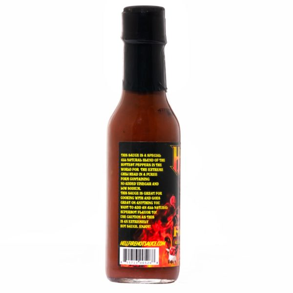 Острый соус Hellfire Fiery Fool Hot Sauce слева