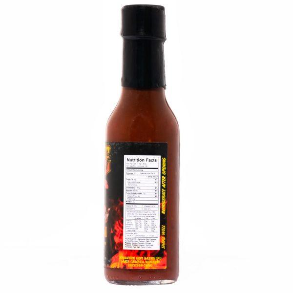 Острый соус Hellfire Fiery Fool Hot Sauce справва