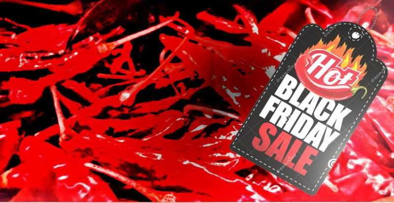 Распродажа сушеных перцев чили