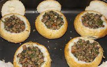 Хлебная тарелка с острым жоревом и перцем Тринидад Скорпион Бутч Т