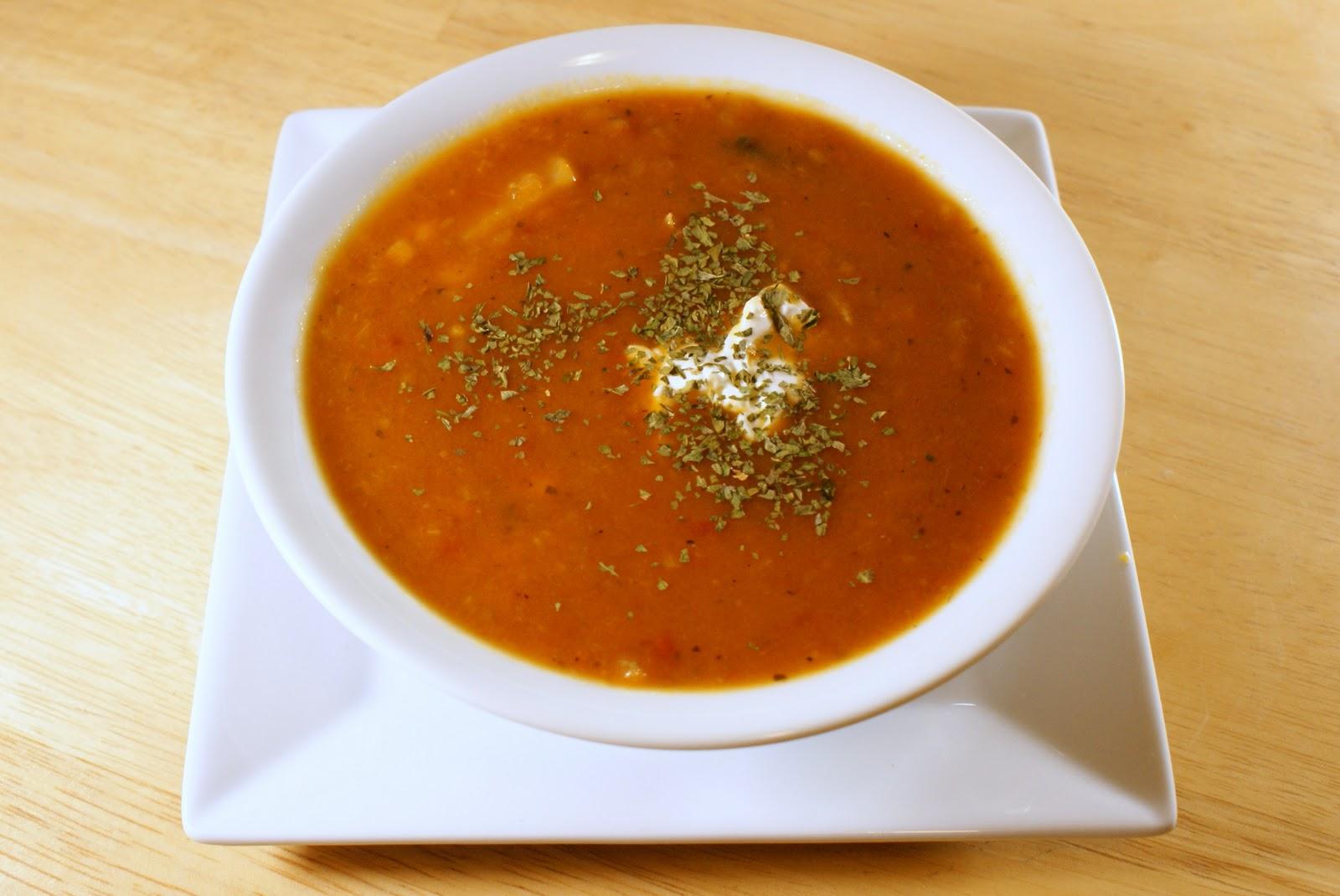 Рецепт куриный суп с перцем Тринидад Моруга Скоприон