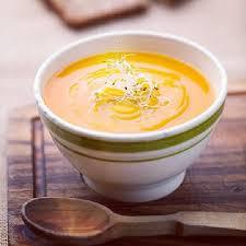 Тыквенный суп с перцем Малагета