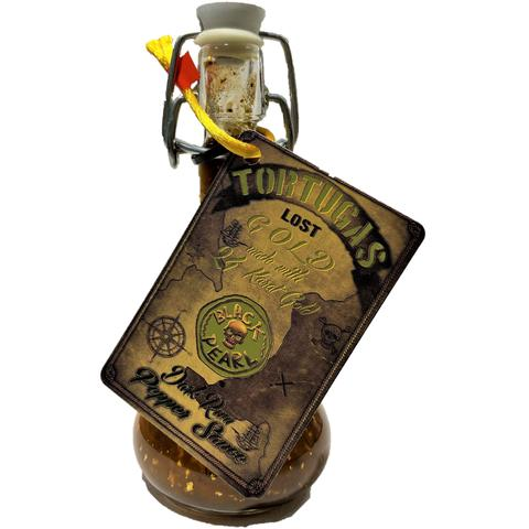 Острый соус Tortugas Lost Gold Dark Rum Pepper Sauce