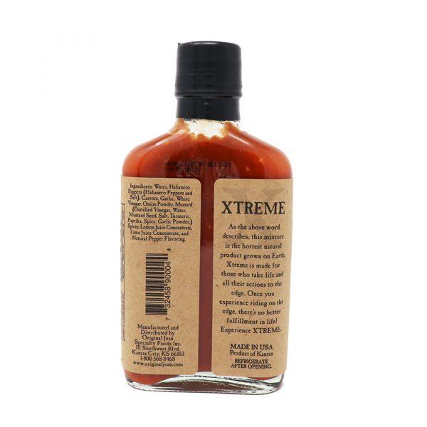Original Juan's Xtreme Hot Sauce острый соус с хабанеро